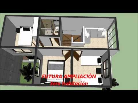 Planos gratis casa moderna 2 pisos 600 m x 900 m parte 1 for Casa moderna 9 mirote y blancana