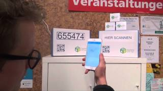 Digitale Dörfer - Paket abholen an der Packstation