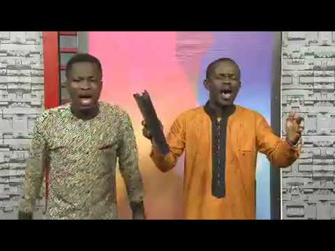 Kwame Sekyi Bassaw on Faith TV. Hosted Apostle Eric Mensah