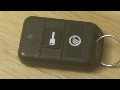 Ford / Mercury Remote Start Battery Replacement – EASY DIY
