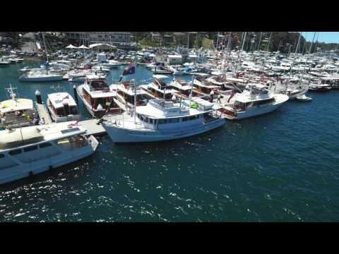2016 Timber Boat Festival - Royal Motor Yacht Club Broken Bay