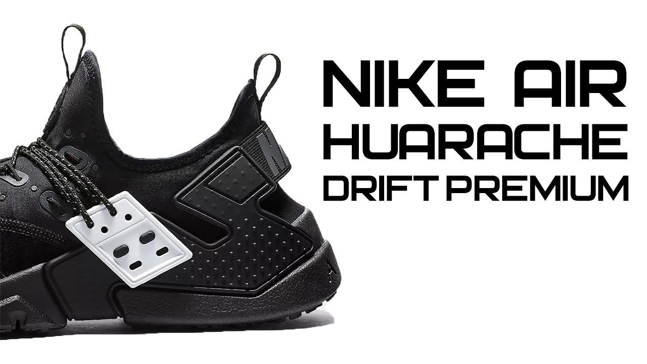 new concept 8a326 2cc13 Обзор кроссовок Nike Air Huarache Drift Premium