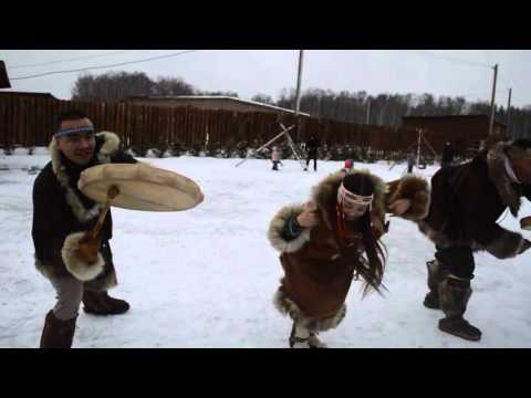 Russia: Koryak national dance.