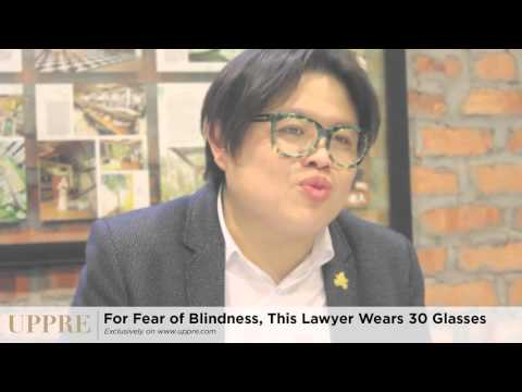For Fear of Blindness, This Lawyer Wears 30 Glasses