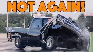 """Miss Misery"" Outlaw 4x4 Drag Truck Crash (Bobby Dodrill Interview)"