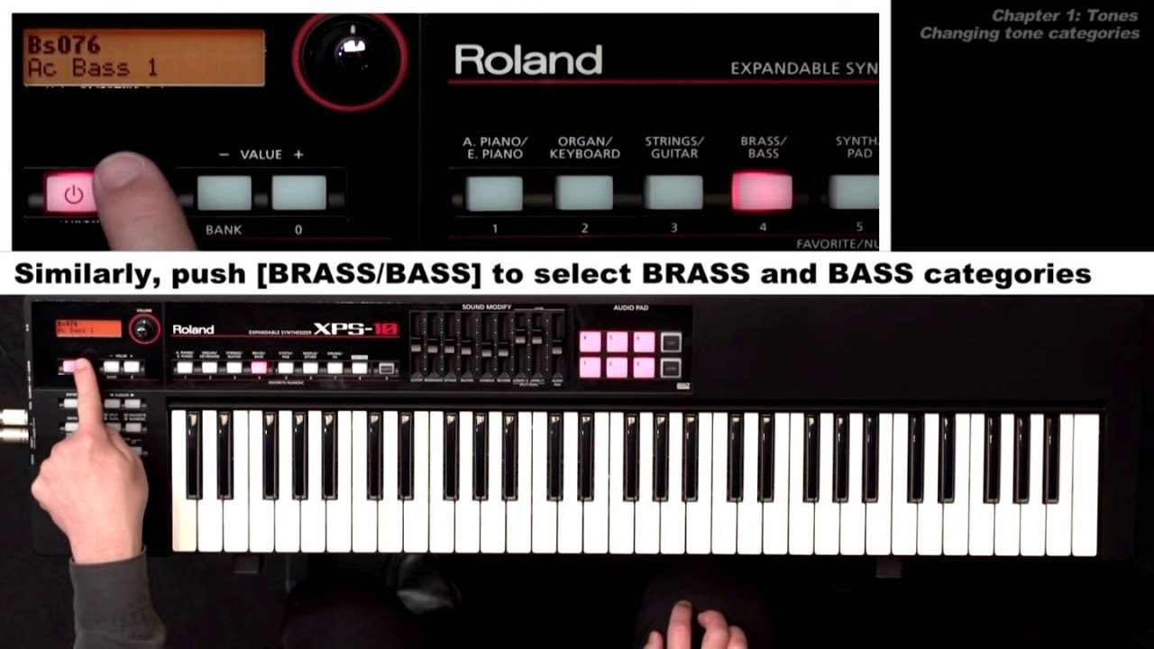 xps 10 expandable synthesizer tutorial video chapter 1 tones youtube rh youtube com XPS 14 XPS 10 Tablet 32GB