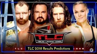 WWE TLC 2018 All Matches Prediction Results HD