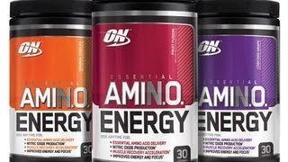 OPTIMUM NUTRITION AMINO ENERGY PRE WORKOUT REVIEW