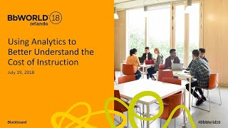 Using Analytics to Better Understand Cost of Instruction (Curt Sherman & Tammy Wissing)
