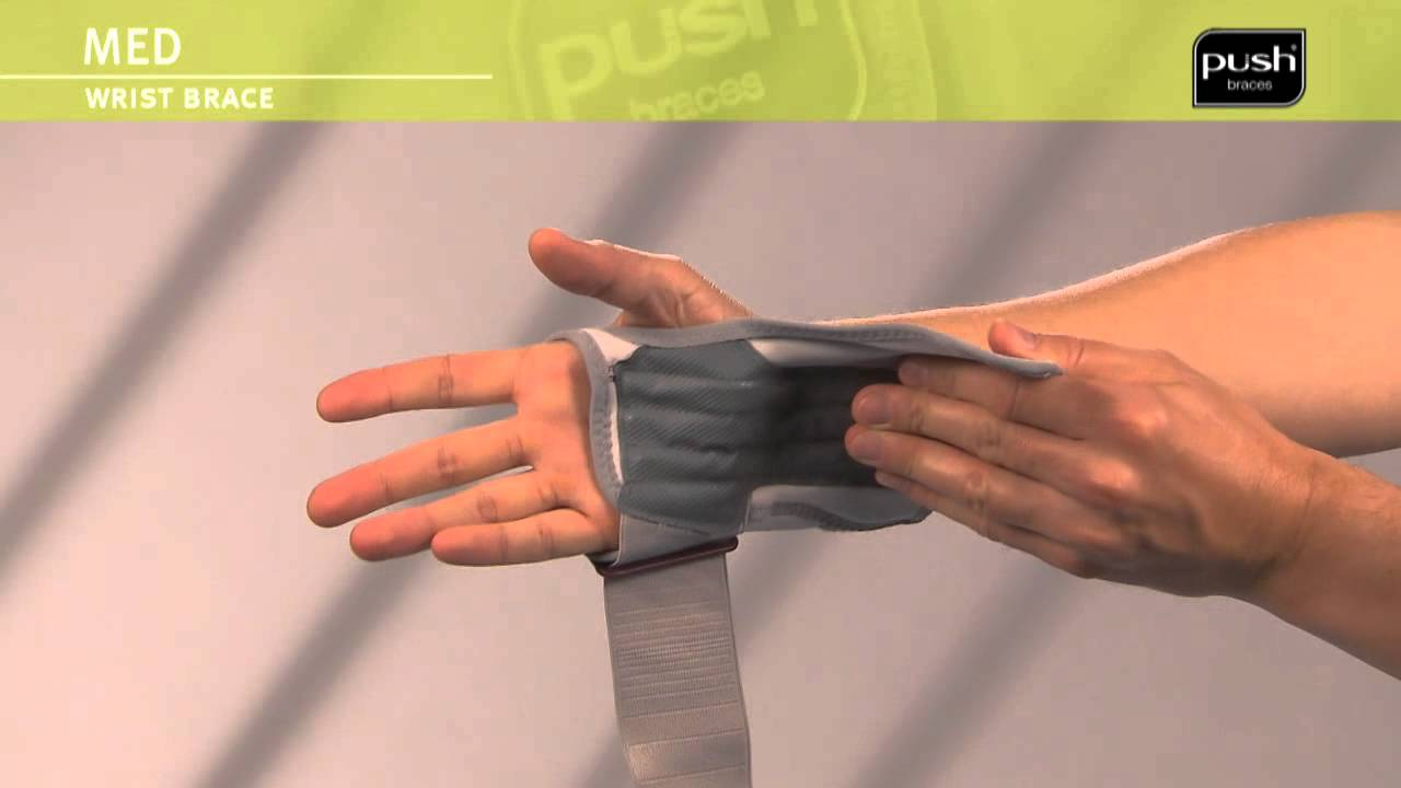 Push Braces | med Wrist Brace