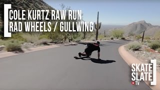 Skate[Slate].TV - Cole Kurtz - Raw Run