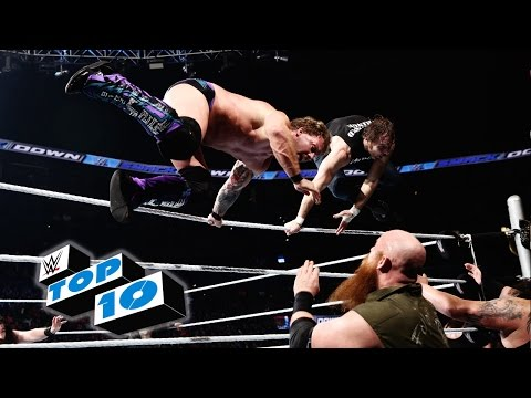 Top 10 SmackDown moments: WWE Top 10, January 28, 2016