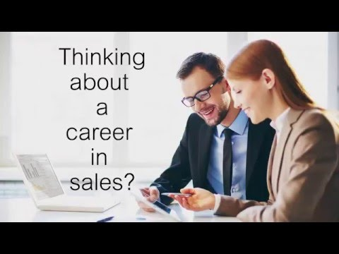 Starting a career in sales - how to part 1 - YouTube