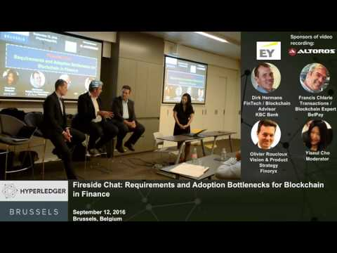 A Panel: How Soon Will We See Blockchain in Finance?