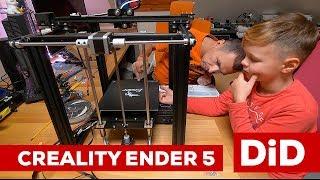 826. Druk 3D: Creality Ender 5 - montaż i pierwszy wydruk