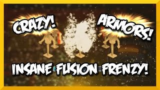 "Knights and Dragons | EPIC FUSIONS, CRAZY FUSIONS, INSANE FUSIONS! | ""FUSION FRENZY"""