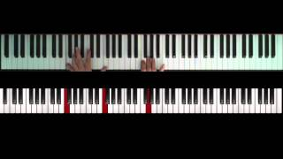 Mika - Talk about you (piano cover tutorial)
