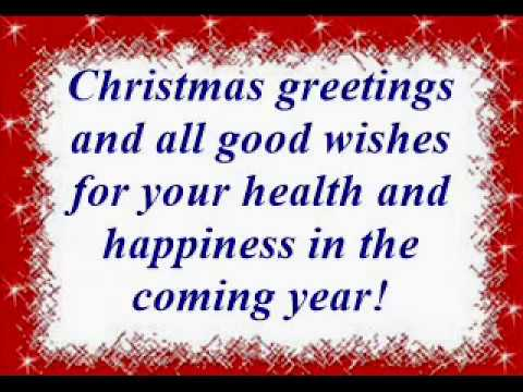Christmas greetings and all good wishes for your health and christmas greetings and all good wishes for your health and happiness in the coming year m4hsunfo