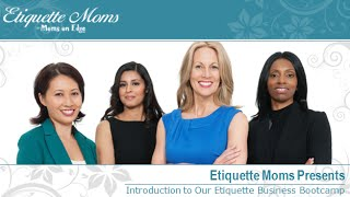 Etiquette Training Bootcamp, Lessons Plans And Classes For Adults To Teach Etiquette