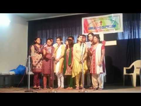 St. Mary's Church Annual Day 2013. group song by MAYM