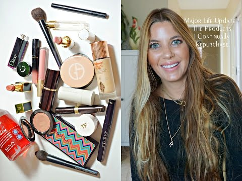 Video: A Major Life Update + A Full Face Of Products I've Bought And Repurchased (No PR Samples)