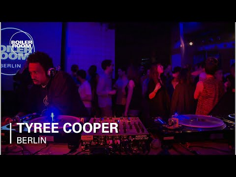 Tyree Cooper Boiler Room Berlin DJ Set