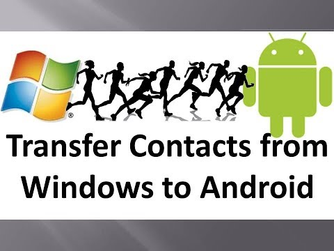 How To Transfer Contacts From Windows Phone To Android || HD Video Tutorial At 720p ||
