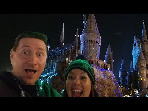 John And Ann Take You To The Wizarding World Of Harry Potter Christmas Show