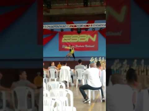 Concurso Esbn parejas cabaret profesionales infantiles Jessica Gutierres y Santiago tenorio 3 puest