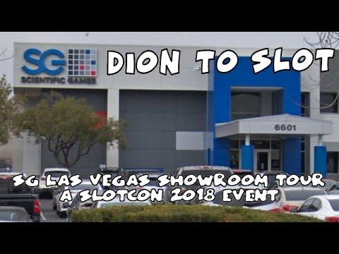 Scientific Games showroom tour !!! Slotcon 2018 event.