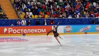 Елизавета Туктамышева короткая программа финал кубка России 27 02 21