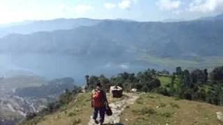 "The Long Downhill ""walk"" from Sarangkot to Pokhara"
