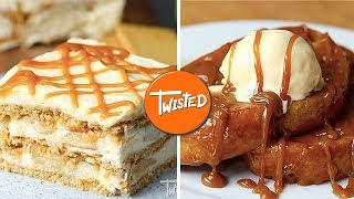 7 Gooey Caramel Desserts | Best Dessert Recipes | Sweet Treats | Easy Desserts To Make | Twisted