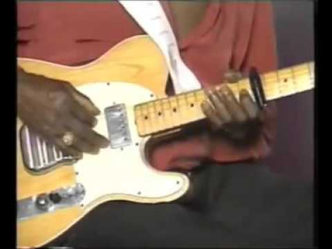 Albert Collins, talked about his riffs