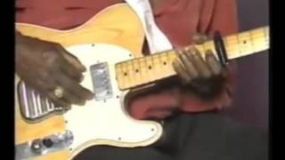 Albert Collins, talked about his riffs YouTube Videos