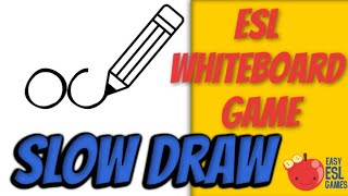 Slow Draw (An ESL Conversation Starter) - Easy ESL Games Video #18(Slow Draw is a great ESL warm up activity. All you need is a marker and a little bit of artistic talent. This game quickly opens up a dialogue between you and the ..., 2016-02-13T00:26:31.000Z)