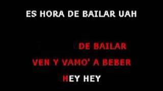 Es Hora De Bailar - Es Hora de Bailar (karaoke )