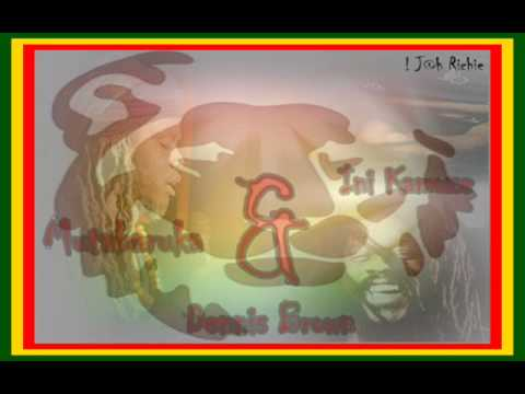 Mutabaruka,Dennis Brown & Ini Kamoze   Great Kings Of Afrika