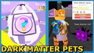 OVERPOWERED DARK MATTER PETS!! (Roblox Pet Simulator Update)