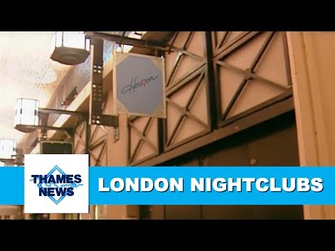 Nightclub Closing Times Extended | Thames News Archive Footage