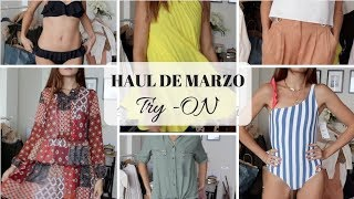 HAUL DE MARZO | TRY ON | ZARA MANGO OYSHO | Marilyn's Closet