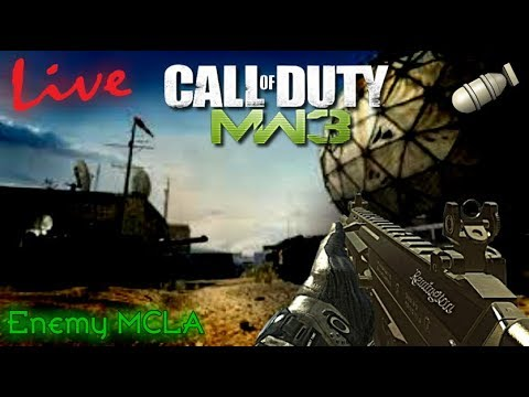 """MW3 """"LIVE"""" - MOAB Race with MCLA! 