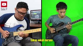 Baixar Pertemuan Rhoma Irama Noer Halimah Guitar cover Feat Sobat P