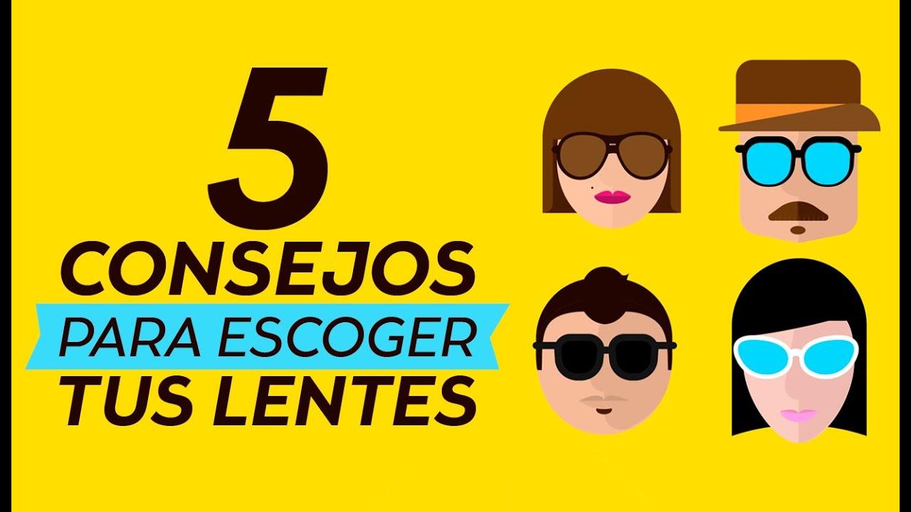 Cómo elegir lentes según el rostro? | Coppel - YouTube
