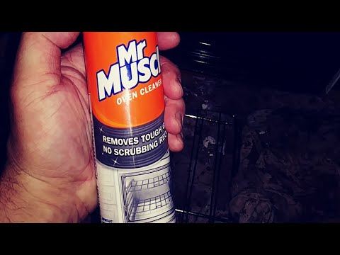 Getting rid of mr muscle oven cleaner chemical smell after cleaning your oven  handy hints
