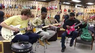 Jam Session! Henny Hendrexz, Michael Lemmo & Conrad Lee at Norman's Rare Guitars