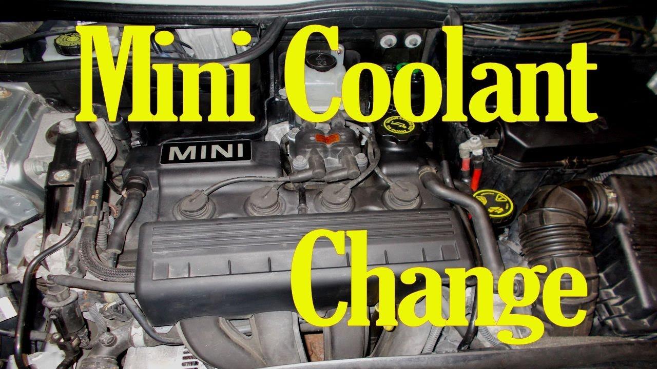 How to change the coolant on a Mini - YouTubeYouTube