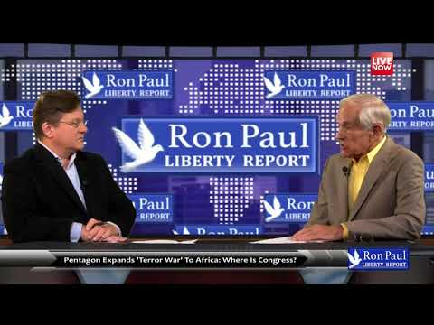 Ron Paul: US troops in 53 of 54 African countries   Liberty Report 2017-10-24