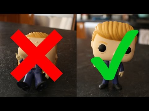 How To Fix A Funko Pop If It Wont Stand!!