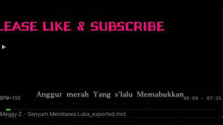 Download Karaoke Senyum Membawa Luka Meggy Z no Vocal HQ Audio